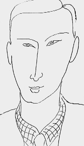 Портреты великих графика рисунок